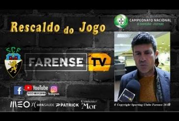 Rescaldo do jogo - Carlos Juliano