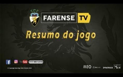 Varzim SC 1–1 SC Farense
