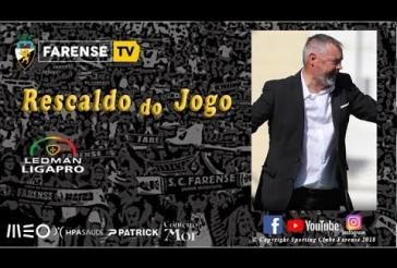 Sala de Imprensa - Rescaldo do encontro SC Farense 1-1 FC Penafiel